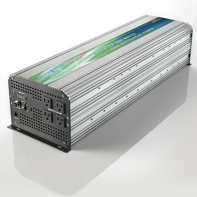 New Advanced Pure Sine Wave Power Inverter 5000/10000 Watt 12Vdc To 120V Ac!