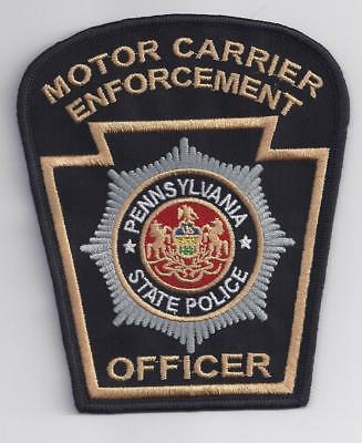 Pennsylvania State Police MCSAP Motor Carrier Enforcement Officer Patch  01