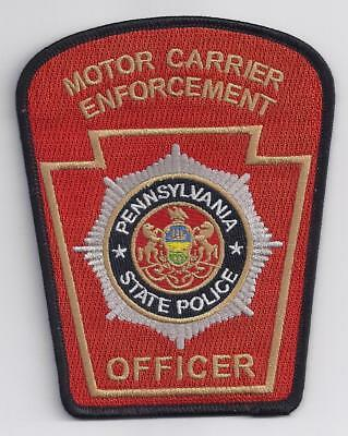 Pennsylvania State Police MCSAP Motor Carrier Enforcement Officer Patch  02