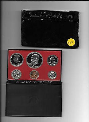 United States Proof Set, 1975, 6 coins,  San Francisco Mint, Other Proof Sets ..