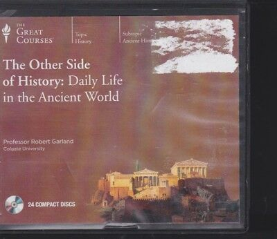 DAILY LIFE IN THE ANCIENT WORLD by THE GREAT COURSES~UNABRIDGED CD AUDIOBOOK