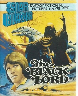 The Black Lord,starblazer Fantasy Fiction Adventure In Pictures,comic,no.175