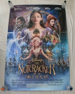 The Nutcracker And The Four Realms Disney BUS SHELTER MOVIE POSTER 4'x6' DS