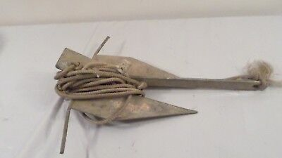 Vintage Hooker M130 Boat Anchor / Nautical Decor