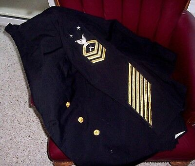 US Navy Master Chief Petty Officer Gunners Mate  DM Uniform