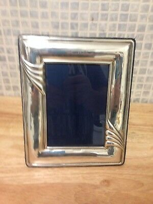 Solid Silver Photo Frame 6 x 7.5 inches Sheffield 2001 Art Nouveau Style Carrs
