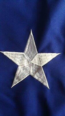 U.S. Nylon US Flag 3x5 Ft Embroidered Stars Sewn Stripes Brass American Flags