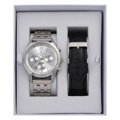 Minster 1949 MN-SET12 Mens Watch and Strap Gift Set