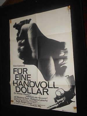 A Fistful Of Dollars Clint Eastwood Original German Poster Spaghetti Western