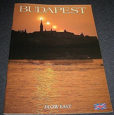 1980s Budapest Hungary Flow East Travel Booklet Brochure English