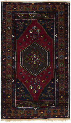 "Hand-knotted Turkish 3'0"" x 5'5"" Antique Shiravan Wool Rug...DISCOUNTED!"