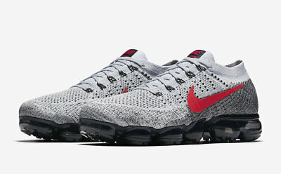 Nike Air VaporMax 2 Flyknit Running Shoes Men AUTHENTIC Multicolor Racer Size 9