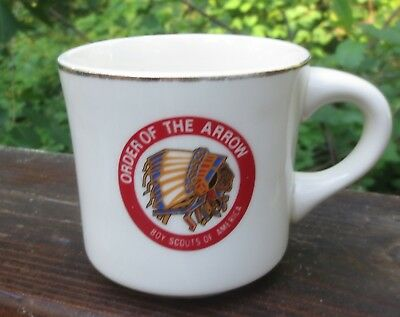 "Vintage BSA Boy Scouts of America ""Order of the Arrow"" Mug"