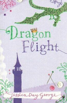 Dragon Flight by George, Jessica Day Paperback Book The Cheap Fast Free Post
