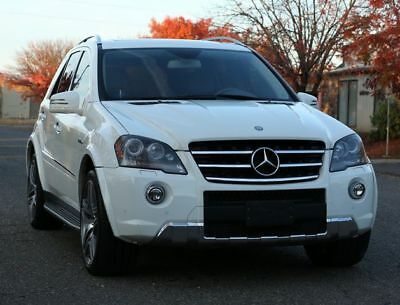2011 M-Class ML 63 AMG 4MATIC Sport Utility 4D 2011 Mercedes-Benz M-Class, White with 148,288 Miles available now!