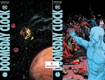 DOOMSDAY CLOCK #9 (OF 12) Cover Set (A & B) - PRESALE