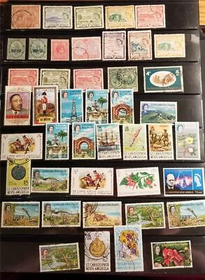 ST KITTS NEVIS Anguilla Stamp Lot D983