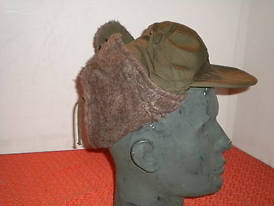 U.S.ARMY :  HAT,FIELD,PILE  No 7 1/4  MILITARIA  1951   from KOREAN  WAR