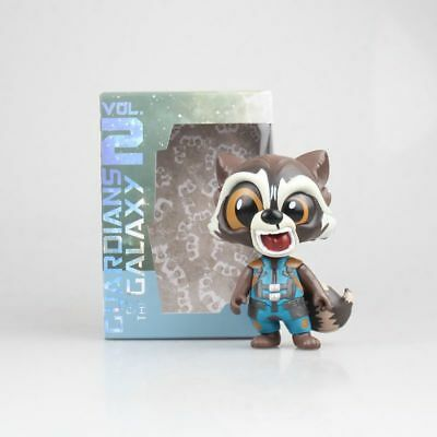 Guardians of the Galaxy Rocket Raccoon Cute Mini Action Figure Toy New In Box