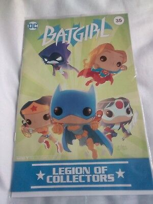 DC Legion Of Collectors magazine BATGIRL (New and sealed)