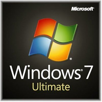 Windows 7 Ultimate SP1 32/64 MS Win 7 Ult SP1. Activation Key / Product Key