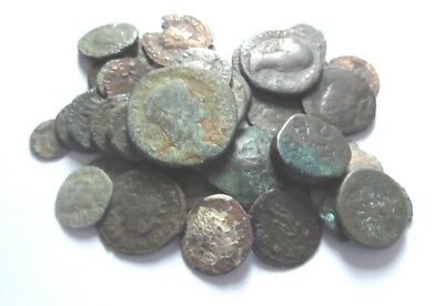 A lot of mostly 50 x roman  Ae-coins