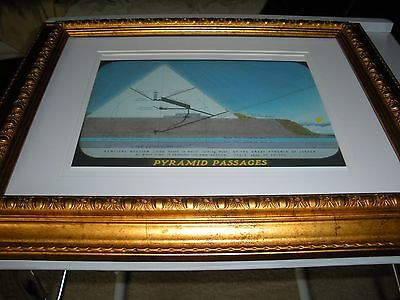 """PHOTO-DRAMA OF CREATION photo """"Pyramid Passages""""from DVD Watchtower IBSA Jehovah"""