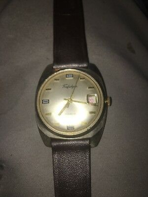 Vintage Trafalgar 17 Jewels Mechanical Winding Swiss Made Working Condition