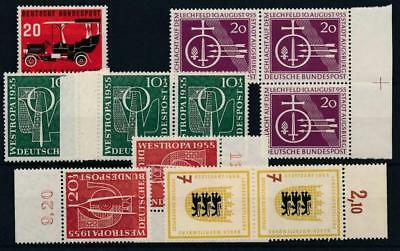 [1606] Germany good lot of old stamps very fine MNH