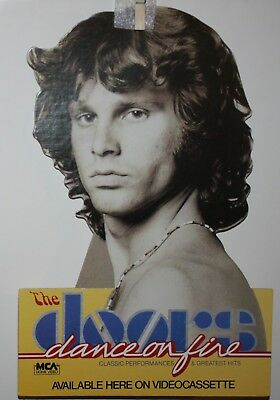 The Doors Jim Morrison Dance on Fire  Die-Cut Promo Counter Display Unused VG