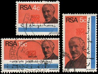 South Africa #395-397 set Used