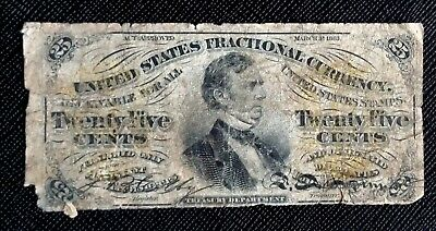 25 Cent Fractional Currency Third Issue