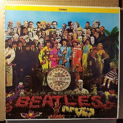 The Beatles SGT. PEPPERS LONELY HEARTS CLUB BAND 1967 Orig. Issue LP