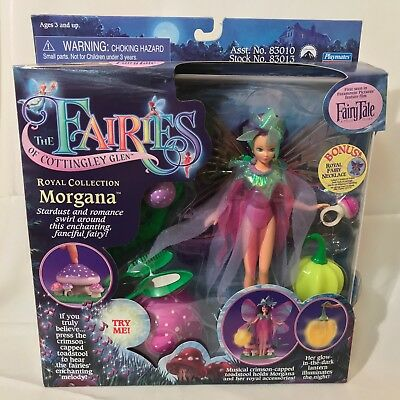 Nrfb Playmates The Fairies Of Cottingley Glen Royal Fairy Collection Morgana