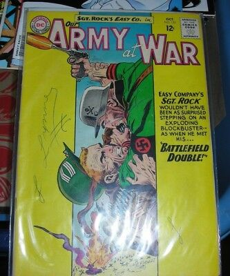 DC Comic 1963 Our Army at war Oct NO. 135