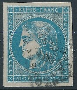 [32875] France 1870/71 Good classical stamp 4 margins Very Fine used