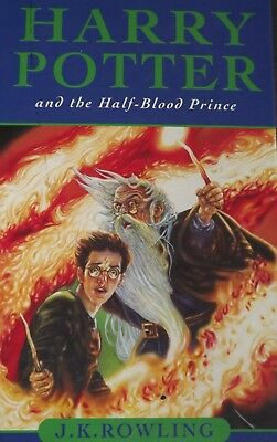 BOOK 6 1st ED HARRY POTTER AND THE HALF BLOOD PRINCE J .K ROWLING HARDBACK BOOK