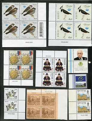 Stamp Lot Of Estonia, Mng (6 Scans)