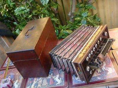 Vintage French  Accordion by Busson , Paris