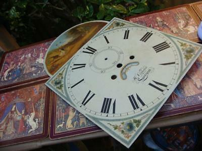 Vintage  Clock Dial Just  Dial  no Movement  For Restoration , Spare Or repair