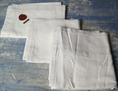 3 French Pillowcases Vintage Square Pillow Cases French Linen And Cotton