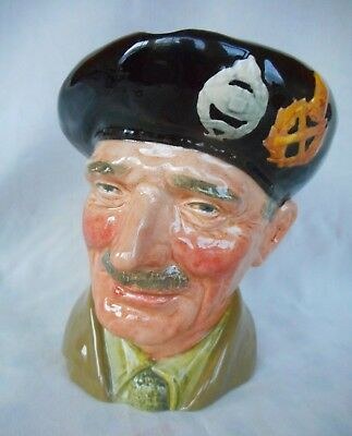Large Royal Doulton Character Jug Monty ~  Lovely  Condition. ~  D6202