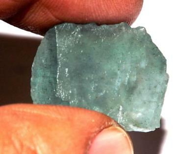 35 cts 100% Natural Untreated Aquamarine  Rough Specimen #raq31