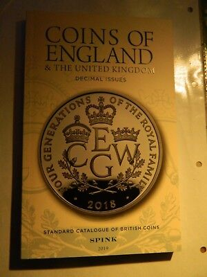 Spink Coins of England Decimal Edition 2019