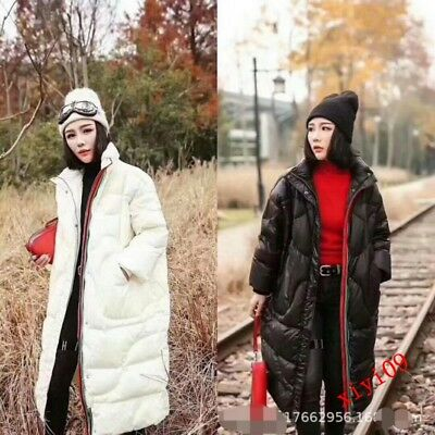 Womens Ladies 2019 Cotton Korea Loose Down Jacket Thicken Casual Winter Zipper