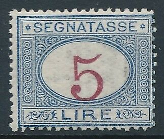 [54762] Italy Due 1870-1903 Very good MNH VF stamp $500 (2 pics in desc)