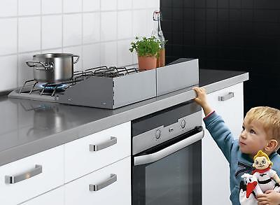 NEW: Mothercare: Metal Stove Top Cooker Hob Guard Baby Protection Cooker Guard