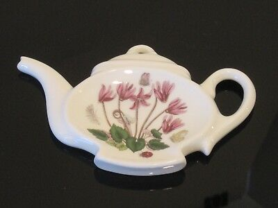 Portmeirion Botanic Garden Tea Bag Caddy / Spoon Holder