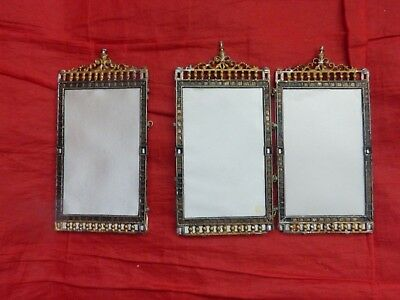 Dolls' House Miniature - Vintage Soft Metal Screen In Need Of Restoration