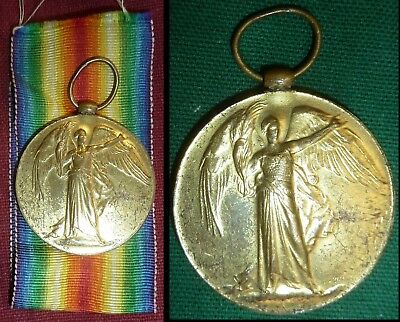 WW1 British Victory Medal - Royal Air Force RAF Flying Corps Mechanic - NO RES